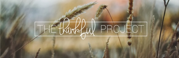 The thankful project: an exercise in practicing gratitude